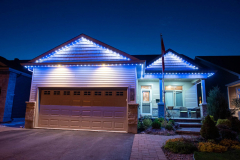 Two-story-pot-lights-and-blue-lights-combined